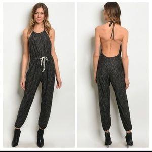 Pants - Backless Jumpsuit